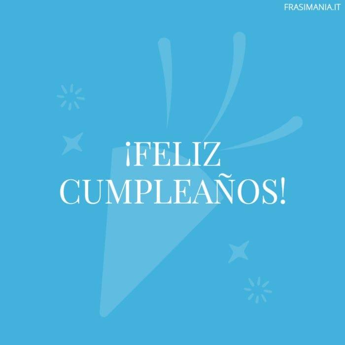Frasi di Buon Compleanno in Spagnolo