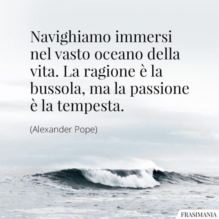 Frasi oceano vita Pope