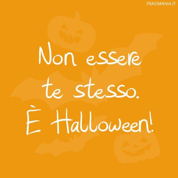 Frasi Halloween te stesso