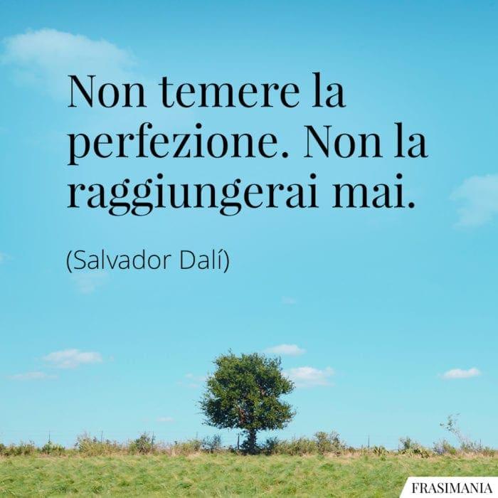 Frasi perfezione Dalí