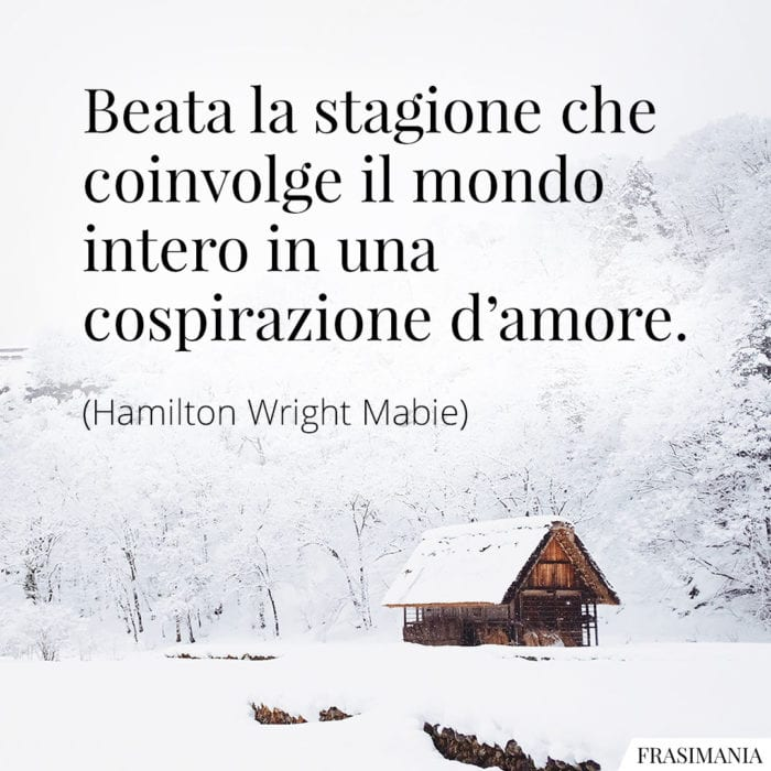 Frasi stagione amore Mabie