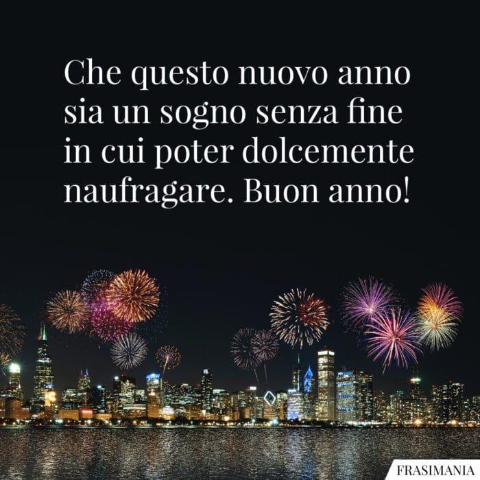 Auguri buon anno sogno