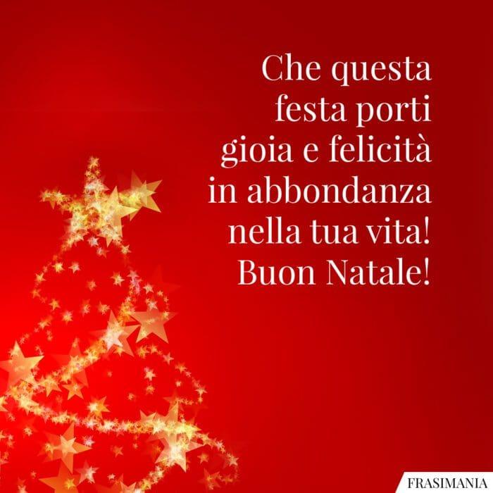 Auguri Buon Natale vita