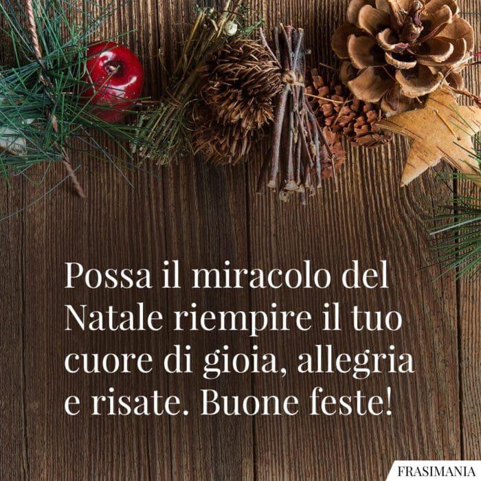 Auguri buone feste Natale