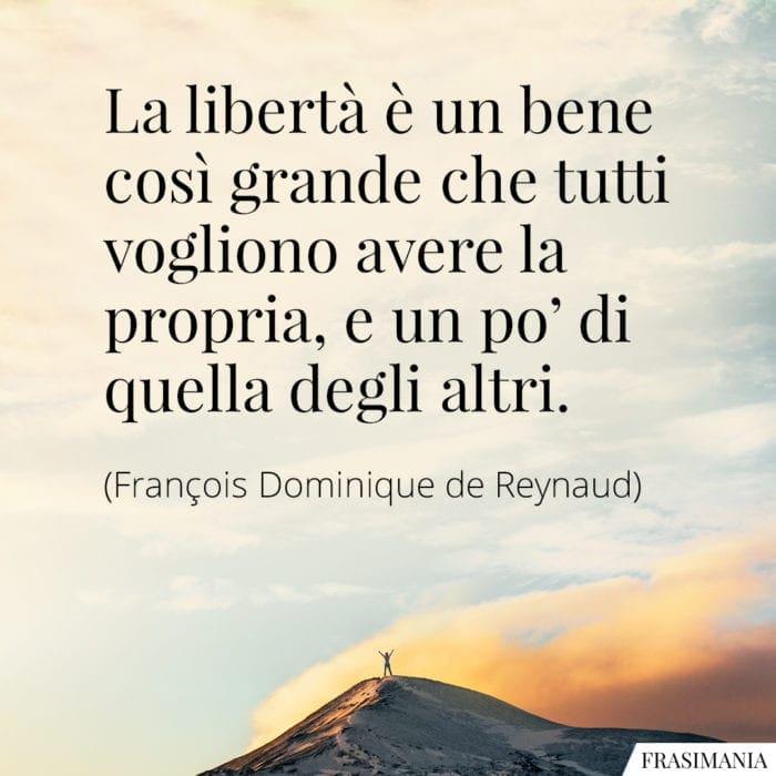 Frasi libertà propria altri Reynaud