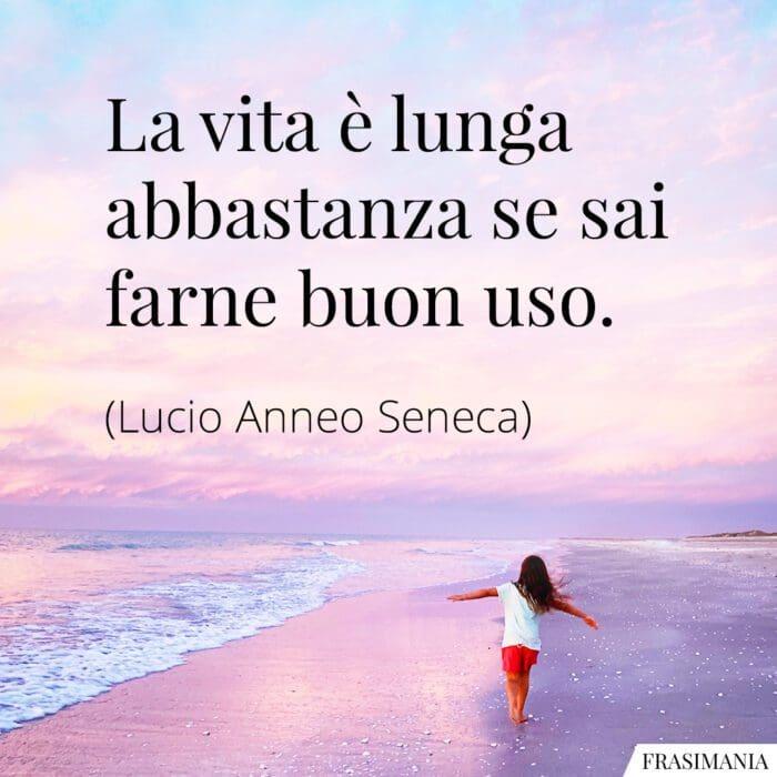 Frasi vita lunga uso Seneca