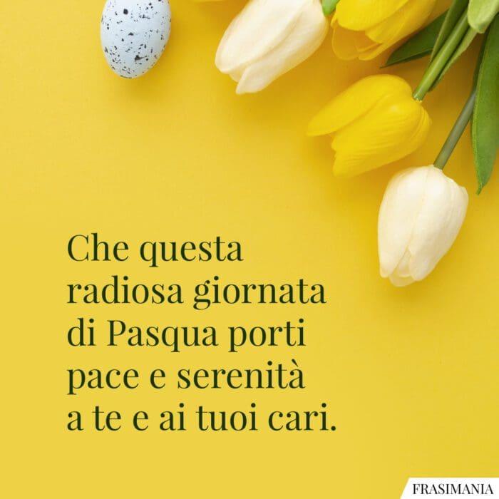 Frasi auguri Pasqua formali pace