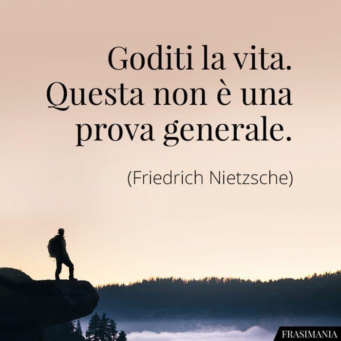 Frasi goditi vita Nietzsche