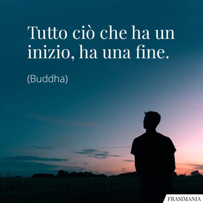 Frasi inizio fine Buddha