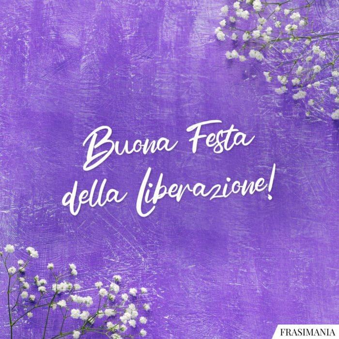 25 aprile buona festa liberazione