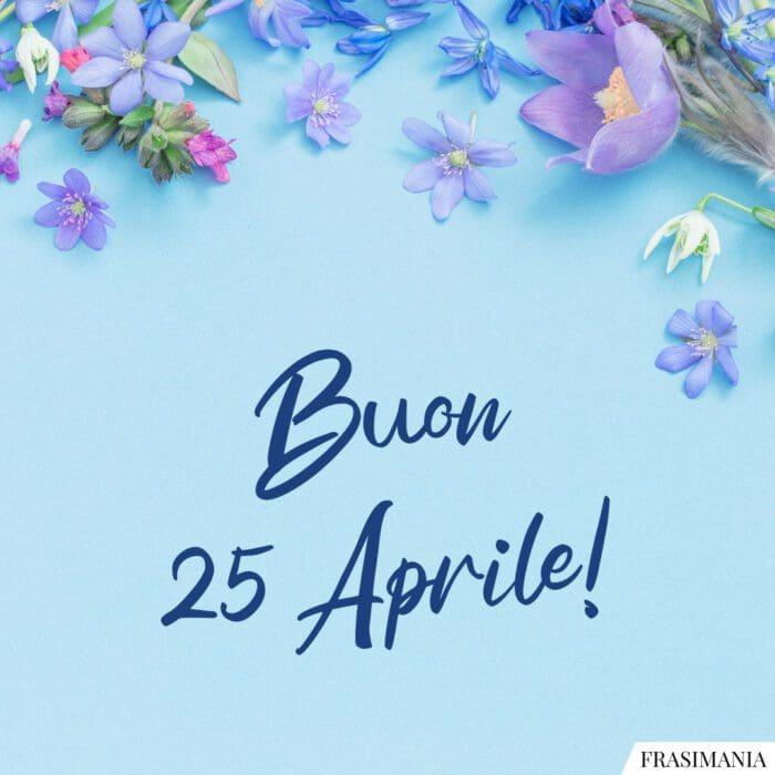 Buon 25 aprile auguri