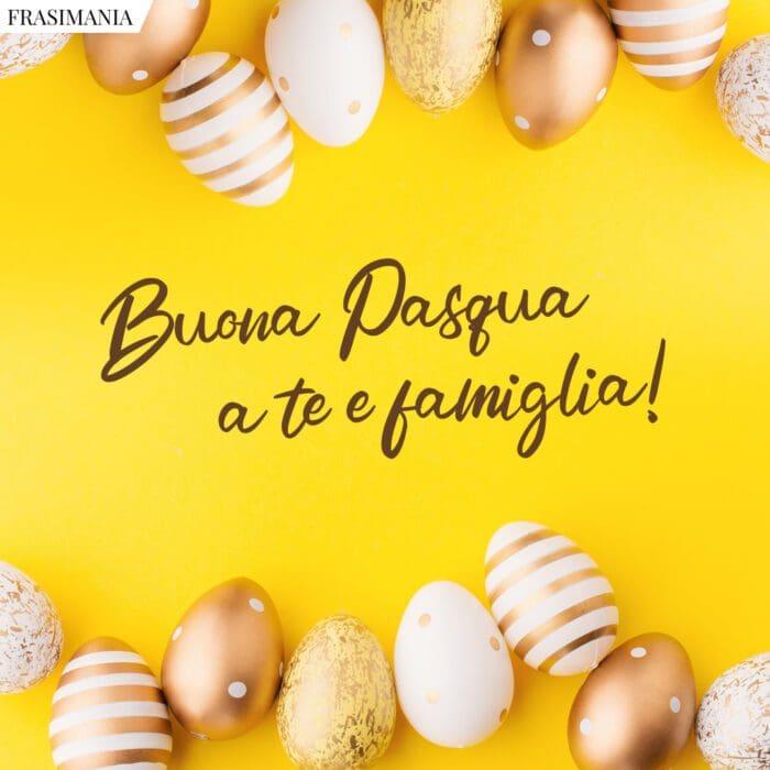 Frasi auguri buona Pasqua famiglia