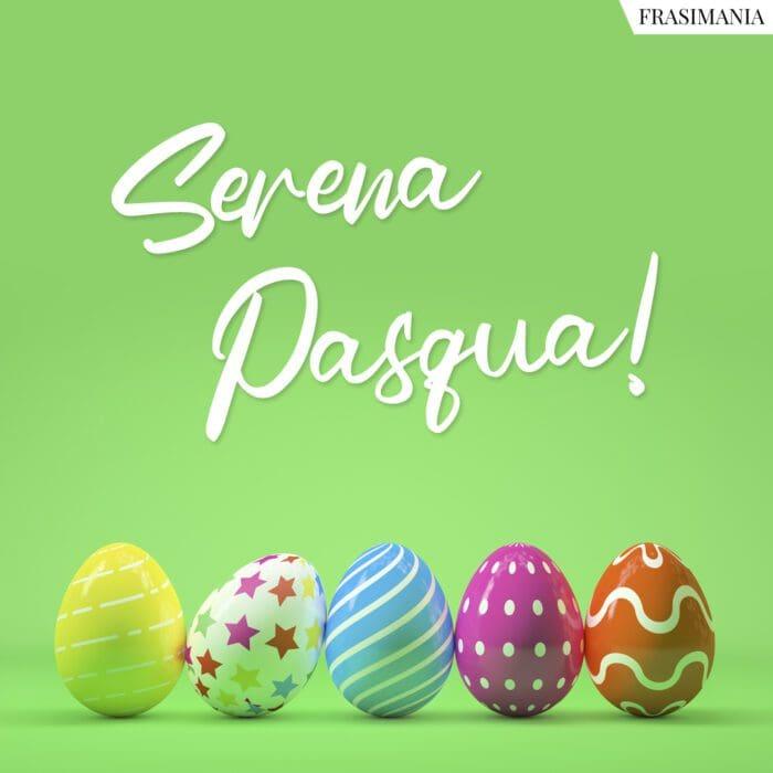 Frasi auguri serena Pasqua