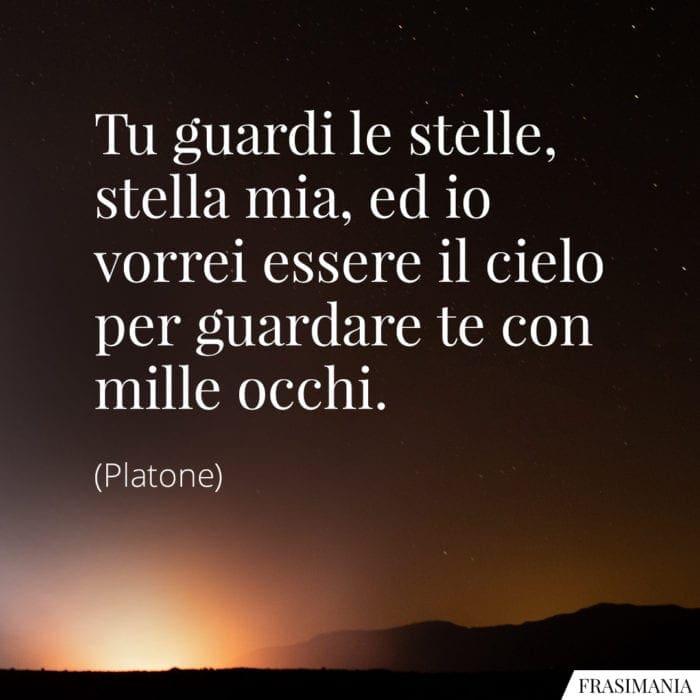 Frasi stella mia occhi Platone