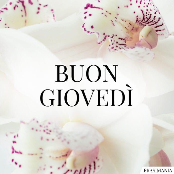 Buon Giovedì fiori