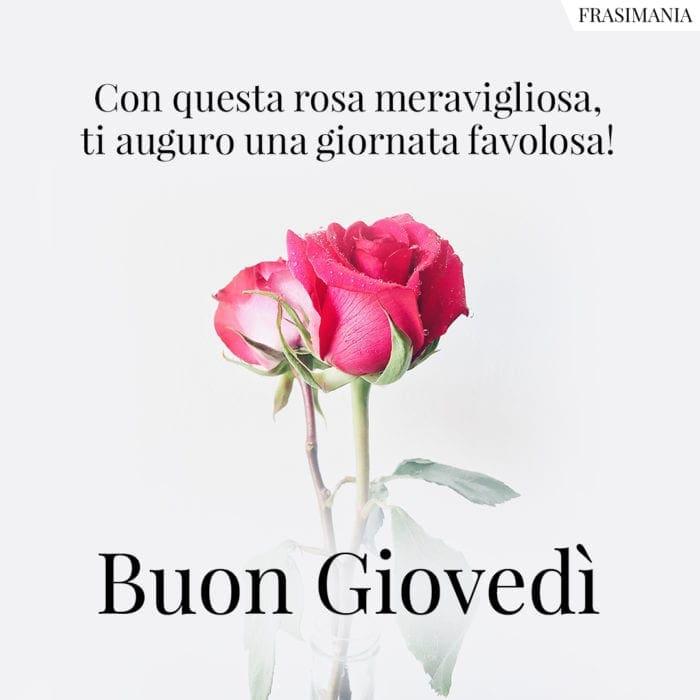Buon Giovedì rosa