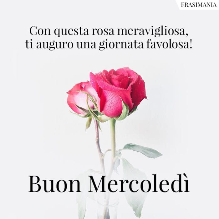 Buon Mercoledì rosa