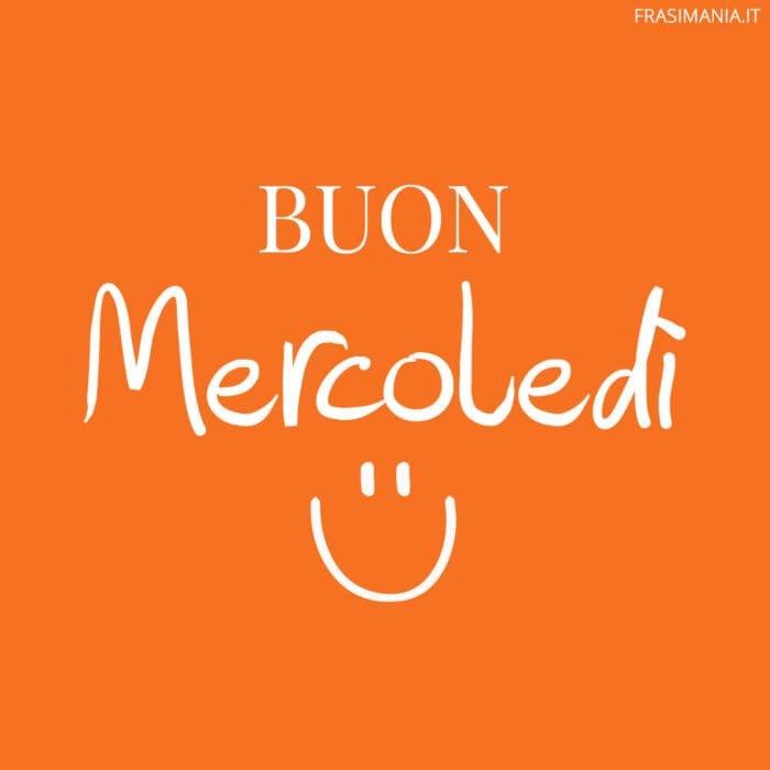 Buon Mercoledì smile