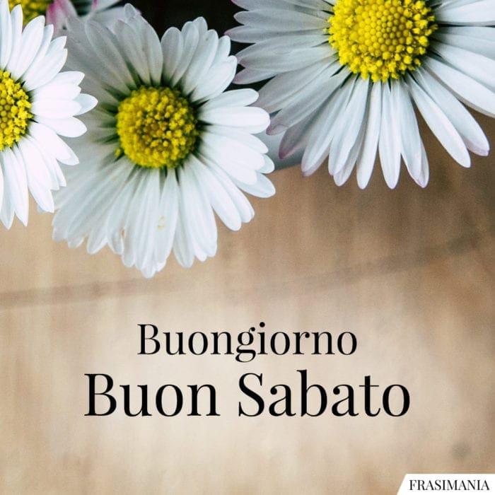 Buon Sabato fiori