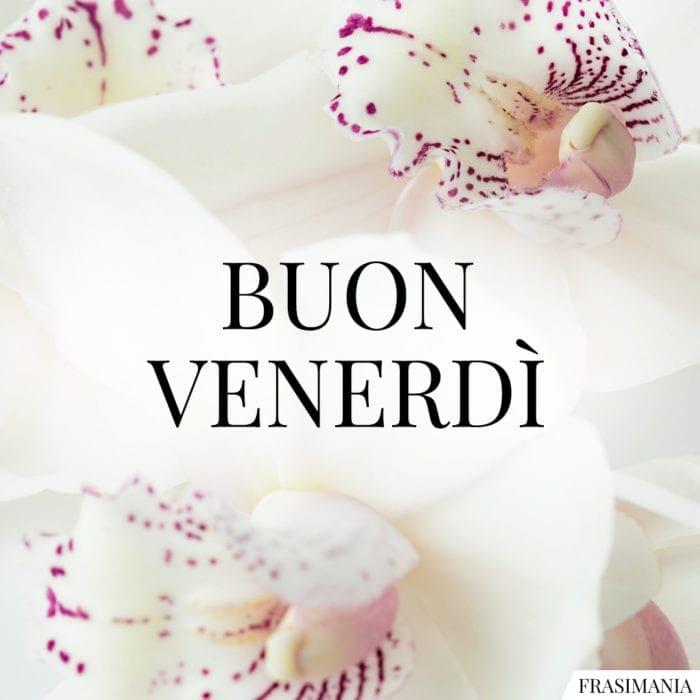 Buon Venerdì fiori