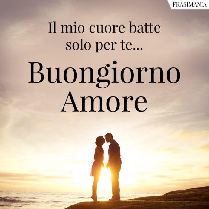 Frasi Del Buongiorno Amore Mio.Buongiorno Amore Mio Le 100 Frasi Piu Belle E Piu Dolci Con Immagini