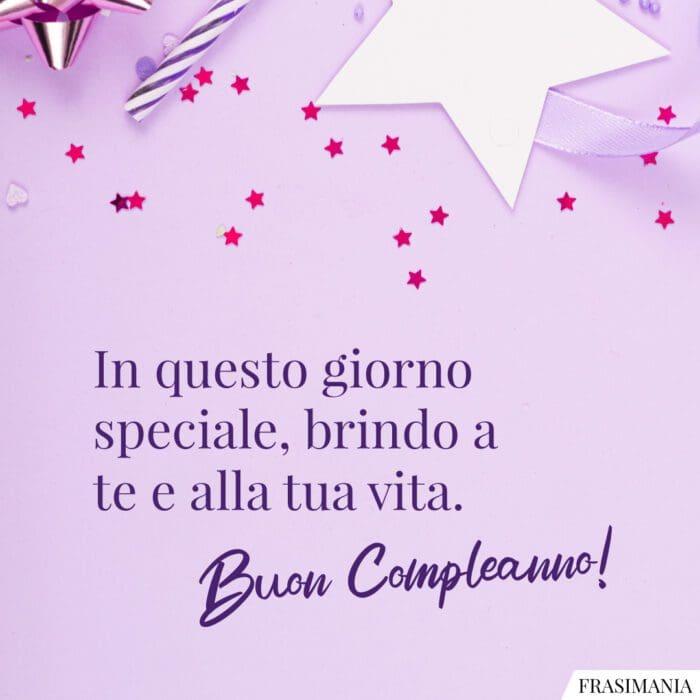 Frasi auguri buon compleanno speciale