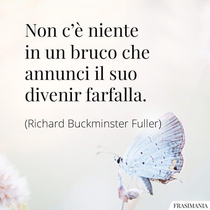 Frasi bruco farfalla Fuller