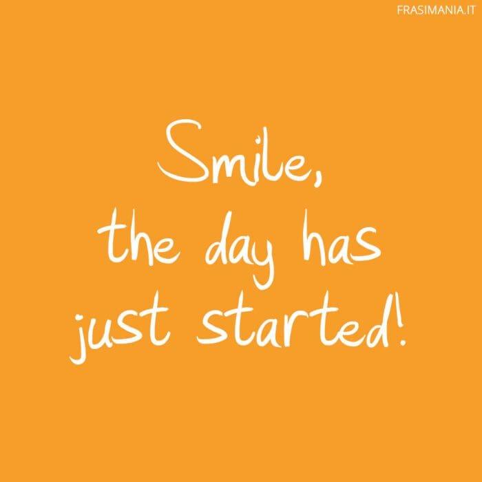 Frasi buongiorno inglese smile