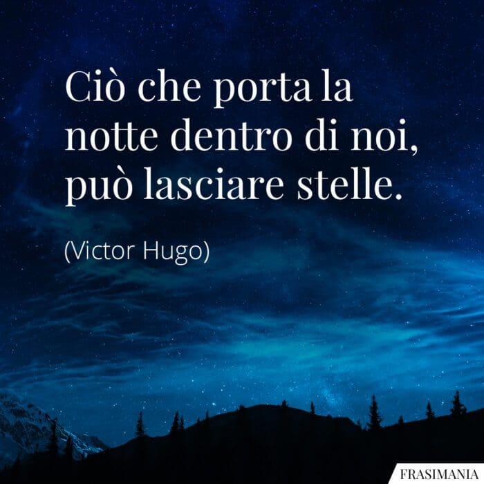 Frasi notte stelle Hugo