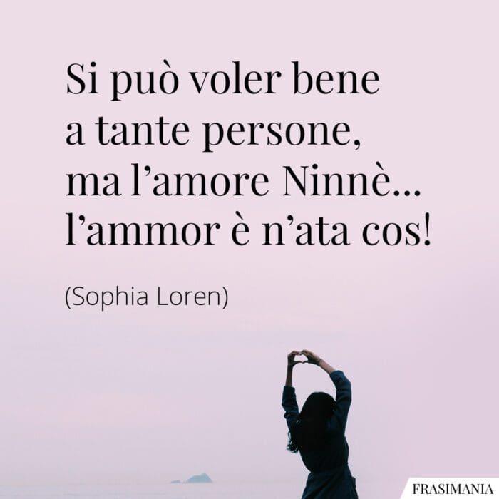 Frasi voler bene amore Loren