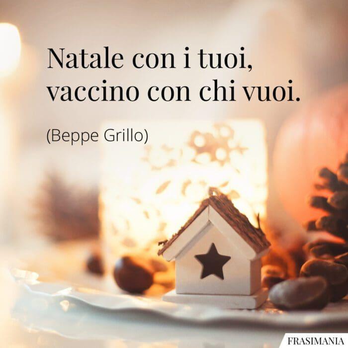 Frasi Natale Covid Grillo