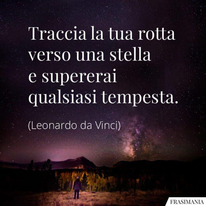 Frasi rotta stella tempesta da Vinci