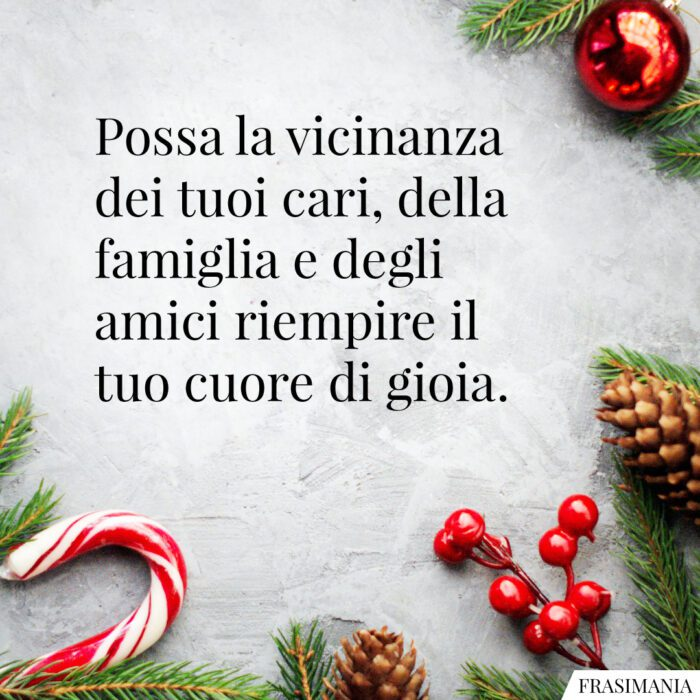 Auguri Natale amici famiglia