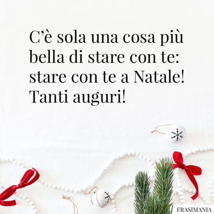 Auguri Natale amore auguri