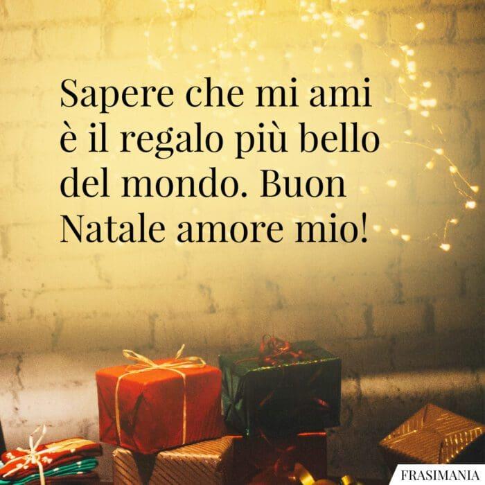 Auguri Natale amore mio