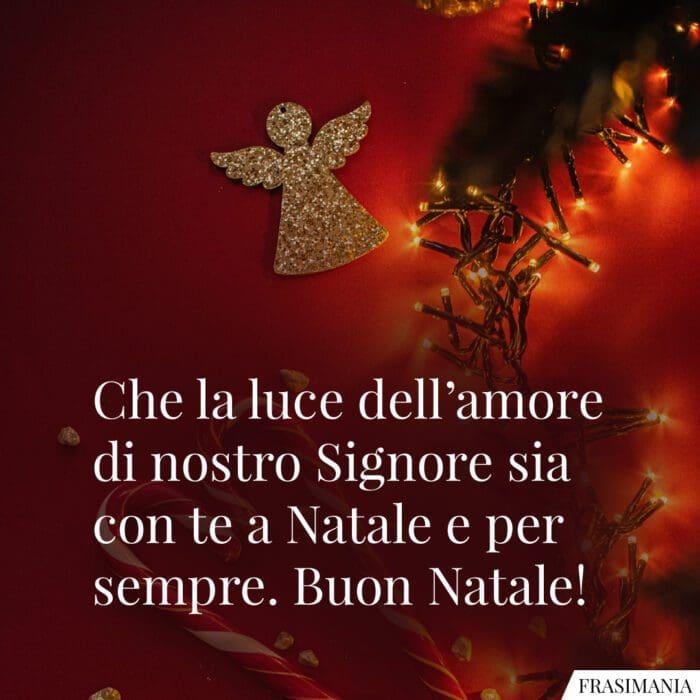 Auguri Natale religiosi amore
