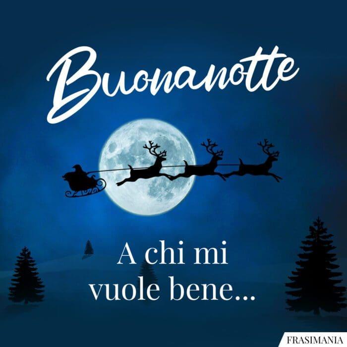 Buonanotte natalizia bene