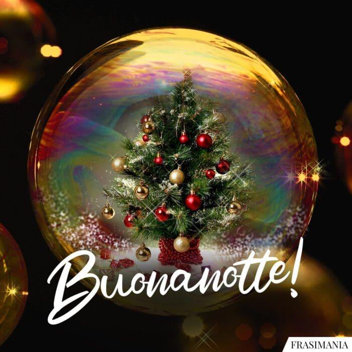 Buonanotte natalizia buona notte