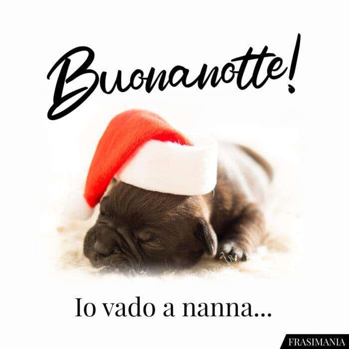 Buonanotte natalizia nanna