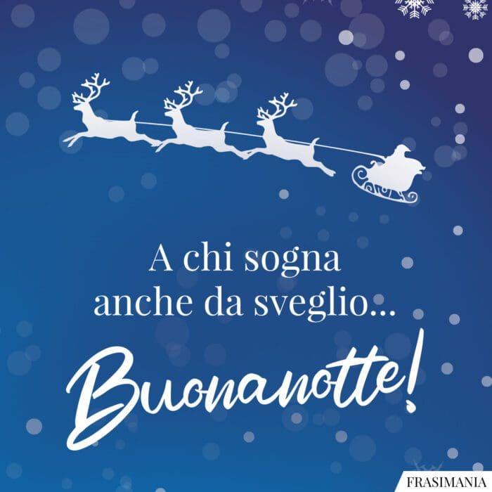 Buonanotte natalizia sogna