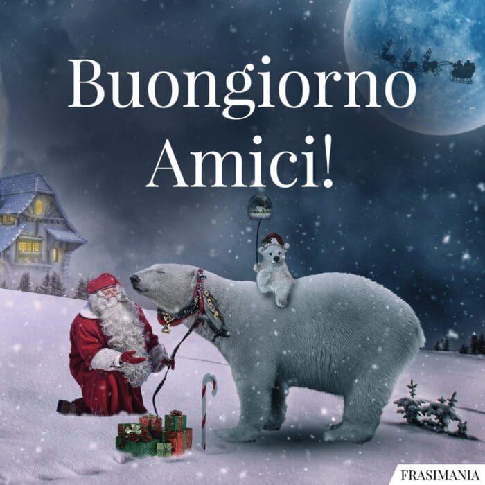 Buongiorno natalizio amici