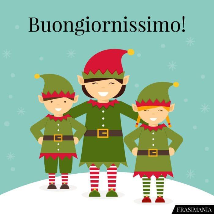 Buongiorno natalizio buongiornissimo