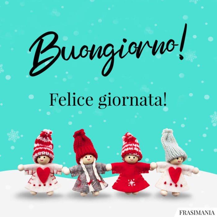 Buongiorno natalizio giornata