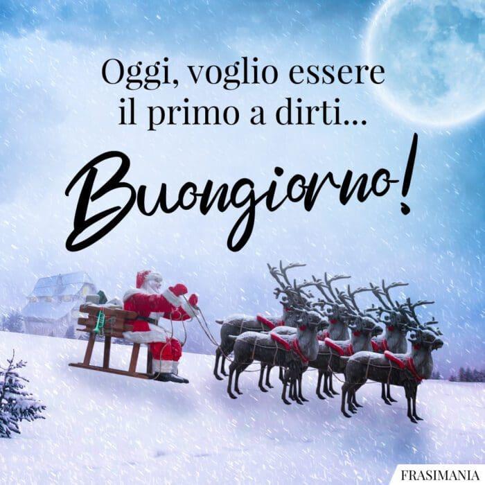 Buongiorno natalizio primo