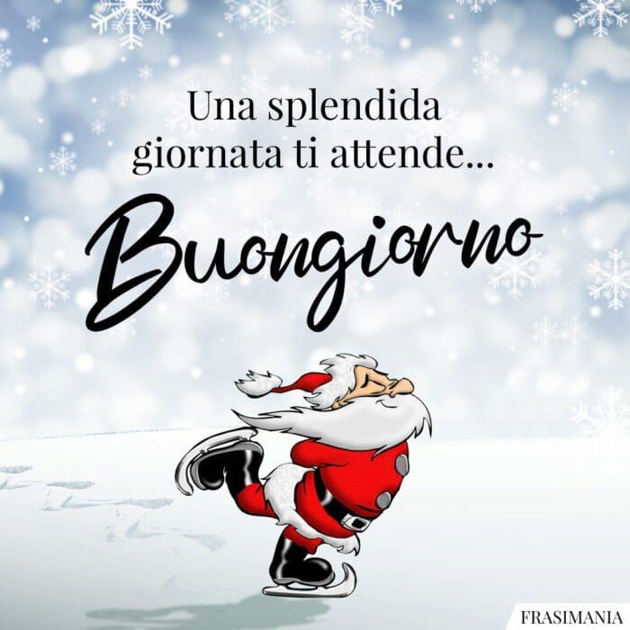 Buongiorno natalizio splendida