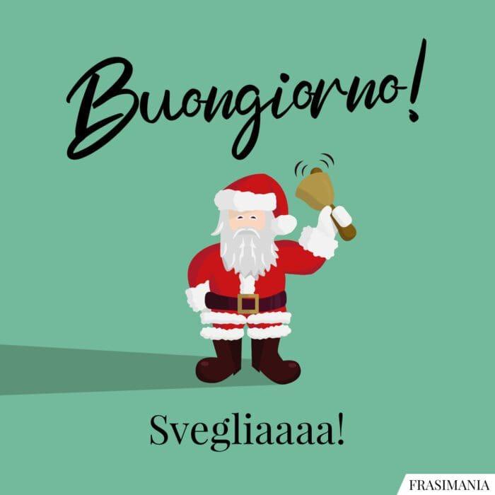 Buongiorno natalizio sveglia