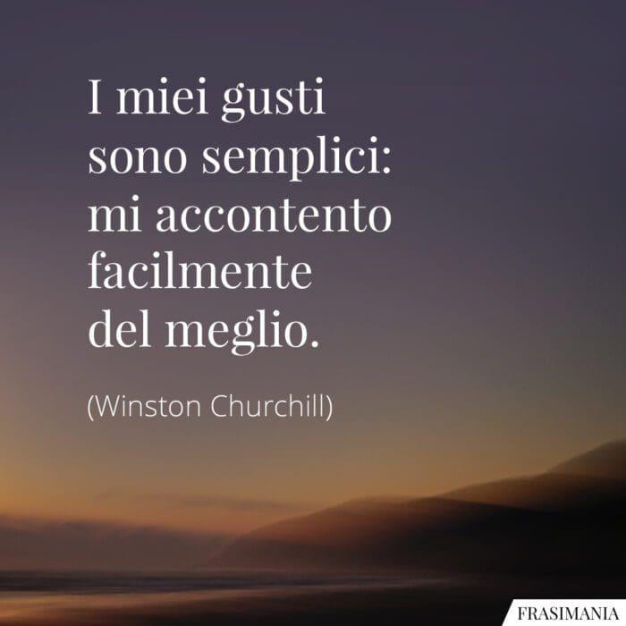 Frasi gusti semplici meglio Churchill