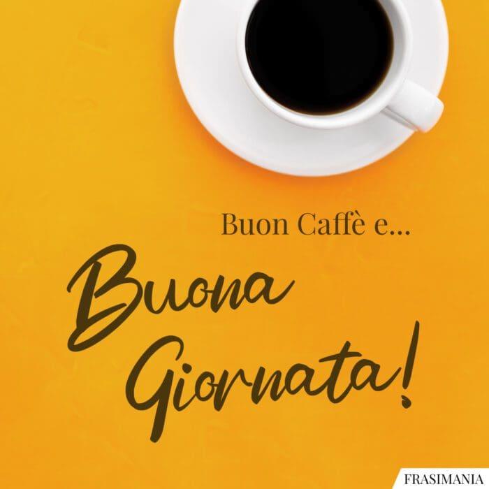 Buongiorno caffè giornata