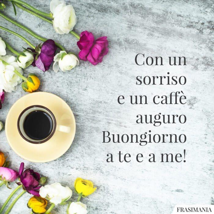 Buongiorno caffè sorriso