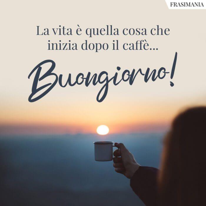 Buongiorno caffè vita